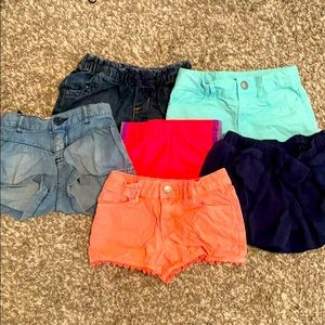 6- 2T toddler shorts